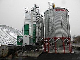 обладнання для післязбиральної обробки та зберігання зерна, купити