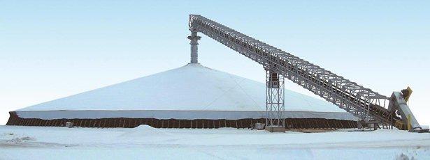 Конструкції модульних зерносховищ Union Iron
