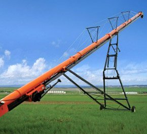варіанти способи розвантаження модульного зерносховища Юніон Айрон